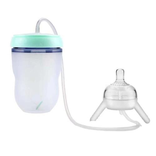 Hands-Free Baby Bottle