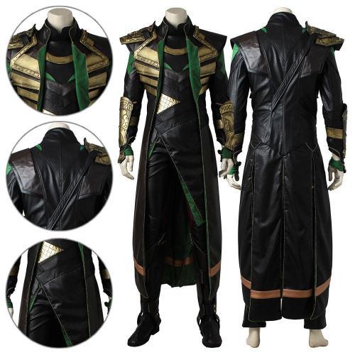 Loki Thor 2: The Dark World Cosplay Costume
