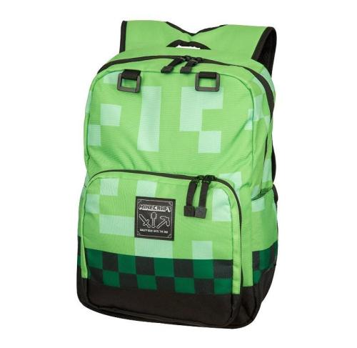 Game Minecraft Creeper Cosplay Backpack Halloween Bags For Kids Adults