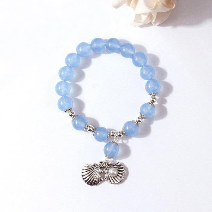 Sophisticated Beaded Charm Bracelets