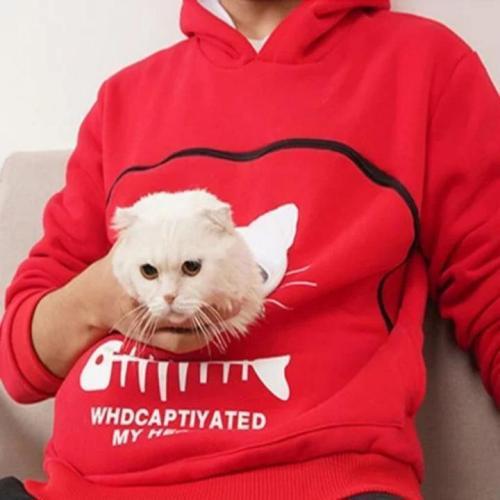 Pet Pouch Hoodie Sweatshirt
