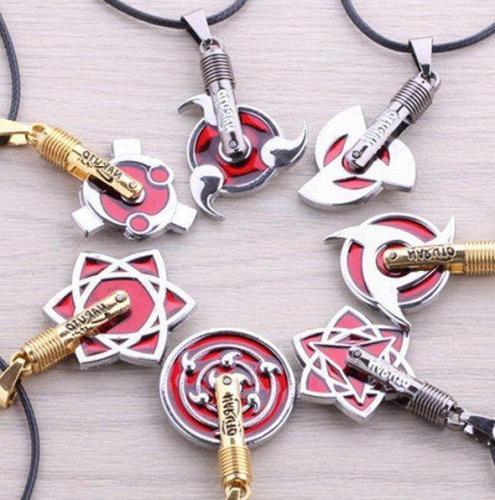 Naruto Sharingan Necklace
