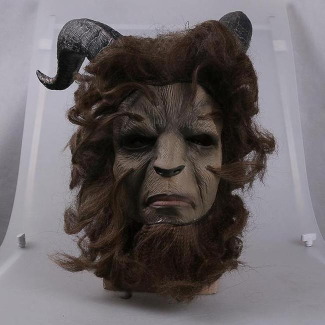 Prince Beast Costume Beauty And The Beast Halloween Carnival Cosplay Mask