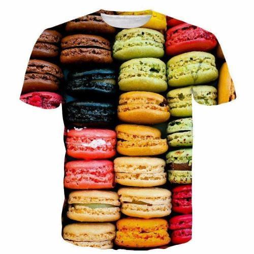 Colorful Macaron T-Shirt