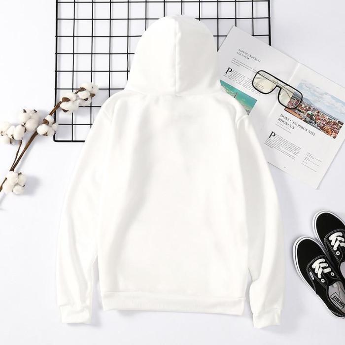 Neferpitou Anime Pullovers Tops Loose Long Sleeves Sweatshirt Hoodie