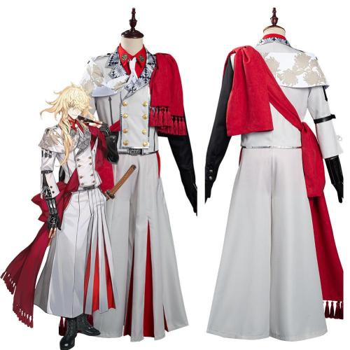 Game Touken Ranbu Online Ichimonji Norimune Outfits Cosplay Costume Halloween Carnival Suit