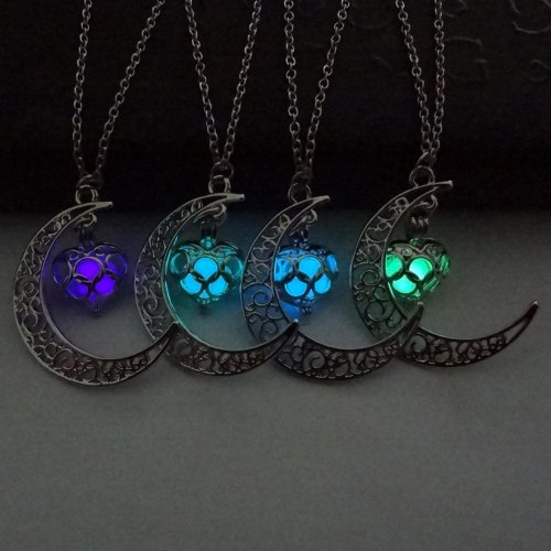 Luminous Moon Necklace