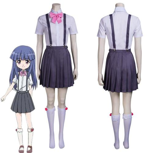 Higurashi: When They Cry Furude Rika Outfits Halloween Carnival Suit Cosplay Costume