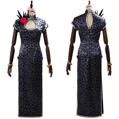 Final Cosplay Fantasy Vii Remakes Tifa Lockhart Cosplay Costume Cheongsam Outfit Dress Halloween Carnival Costumes