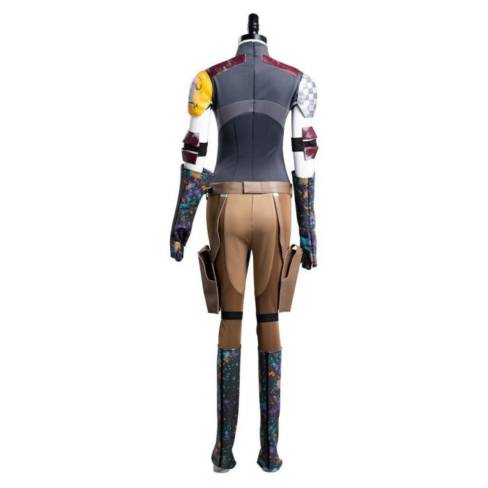 Star Wars Sabine Wren Outfits Halloween Carnival Suit Cosplay Costume