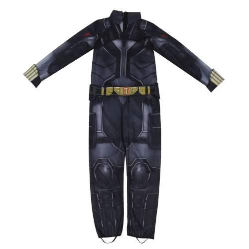 Kids Black Widow Natasha Zentai Jumpsuit Bodysuit Suit Cosplay Costume