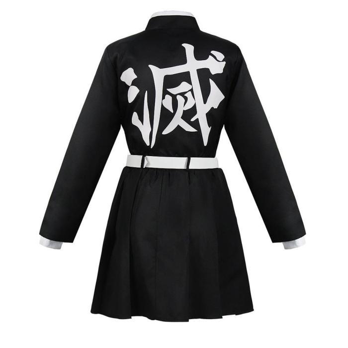Demon Slayer-Kanroji Mitsuri Kimono Outfits Halloween Carnival Suit Cosplay Costume