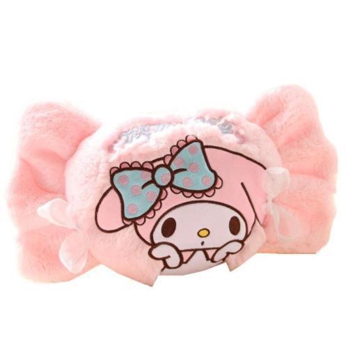 Plush Bunny Throw Pillow