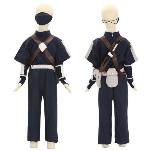Child Size Kids Size Young Kakashi Hatake From Naruto Halloween Cosplay Costume