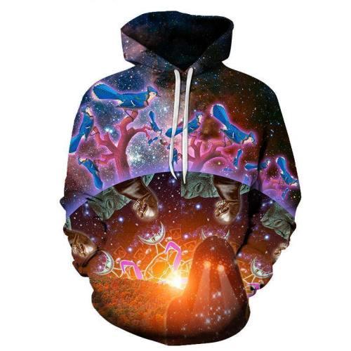 Good Vs Evil 3D Sweatshirt Hoodie Pullover