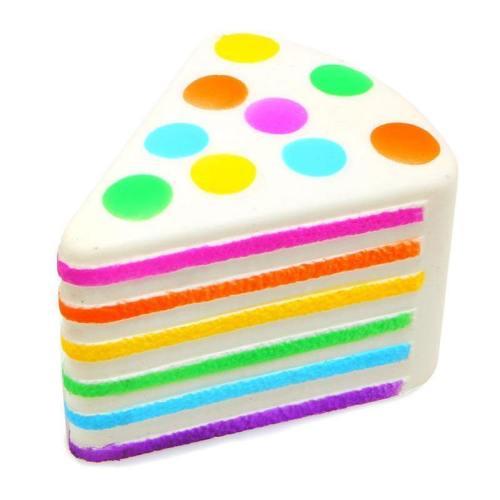 Rainbow Cake Squishy