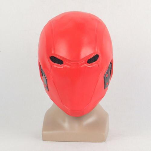 Red Hood Jason Todd Robin Full Head Mask Cosplay Superhero Halloween Costume Props Mask