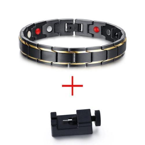 Digital Darkness Steel Bracelet