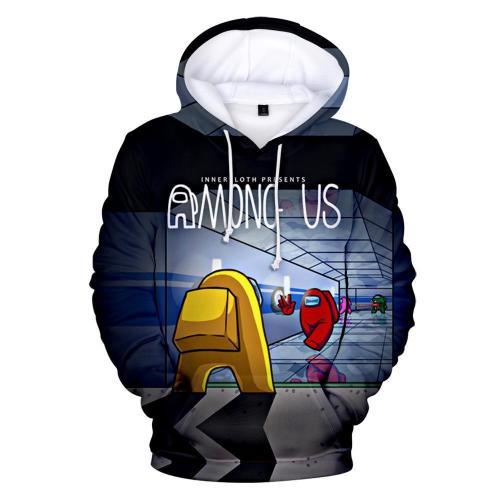 Adult Style-05 Impostor Crewmate Among Us Cartoon Game Unisex 3D Printed Hoodie Pullover Sweatshirt