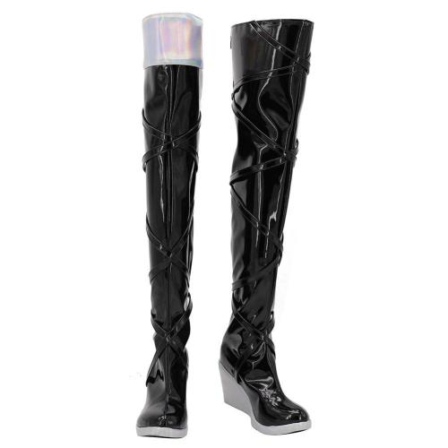 League Of Legends Lol Seraphine Boots Halloween Costumes Accessory Custom Made Cosplay Shoes