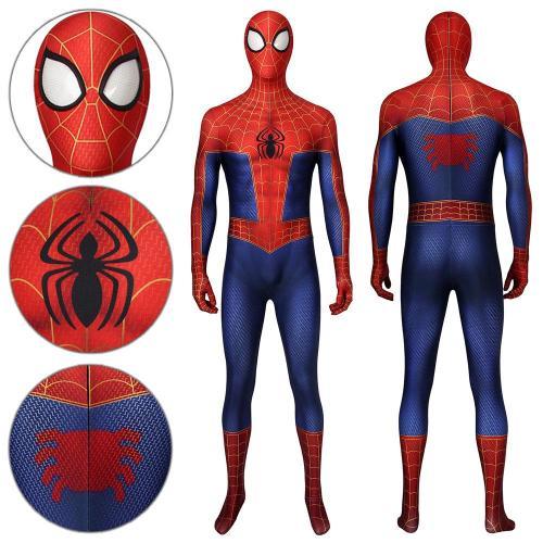 Spider-Man Peter Parker Spider-Man: Into The Spider-Verse Jumpsuit Cosplay Costume -