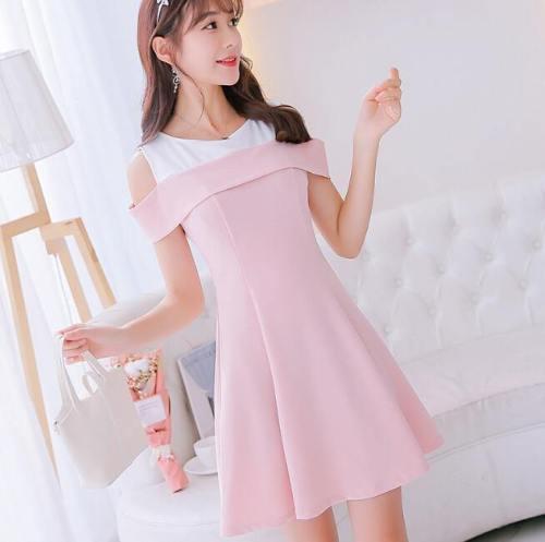 Peekaboo Shoulder Dress