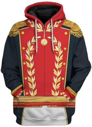 Simón Bolívar Historical Figure Unisex 3D Printed Hoodie Pullover Sweatshirt