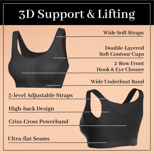Wireless Posture Support Bra