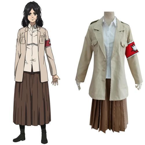 Attack On Titan Shingeki No Kyojin S4 Pieck Finger Uniform Skirt Outfits Halloween Carnival Suit Cosplay Costume