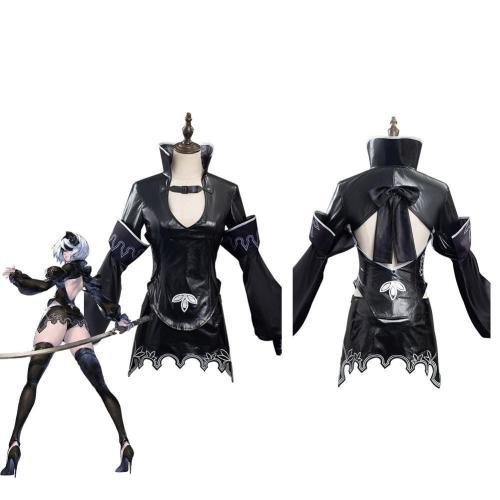 Nier Re[In]Carnation 2B Halloween Carnival Suit Cosplay Costume