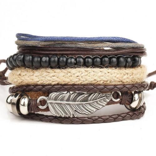 Nomad Leather Bracelet Series