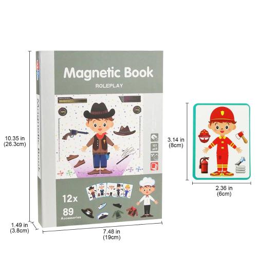 Children'S Intelligent Magnetic Book