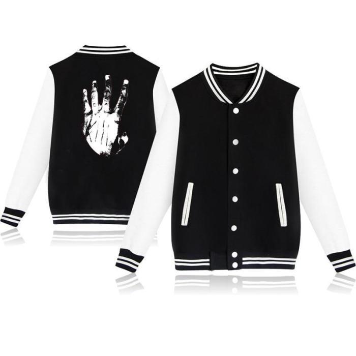 Lovely Harajuku Baseball Uniform Xxx Tentacion Jackets Casual Sportswear