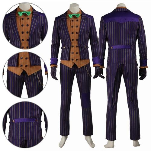 Joker Detective Comics Batman Arkham Knight Cosplay Costume