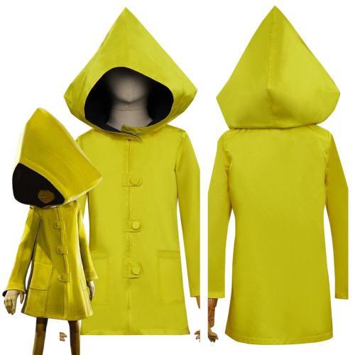 Little Nightmares Ii Six Yellow Coat Halloween Carnival Suit Cosplay Costume