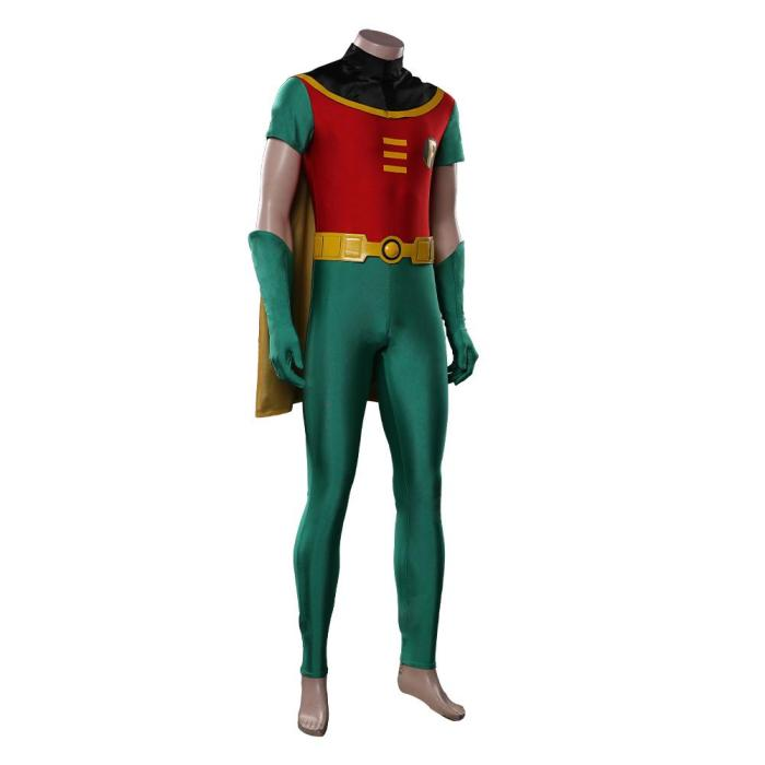 Teen Titans Robin Jumpsuit Outfits Halloween Carnival Costume Cosplay Costume