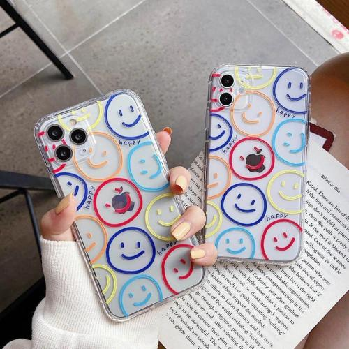 Colorful Smiley Phone Case For Iphone