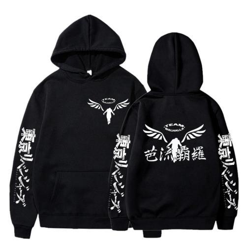 Gambar Valhalla Tokyo Revengers Anime Graphic Hoodie Sportswear Cosplay Tracksuit