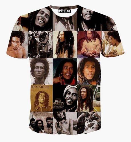 Bob Marley Reggae T-Shirt