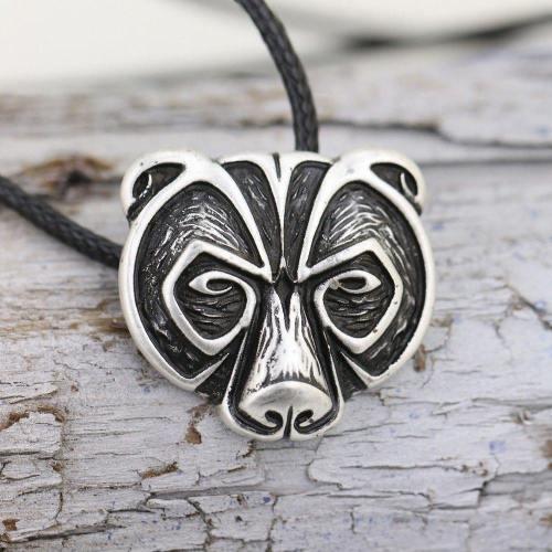 Bear Viking Necklace
