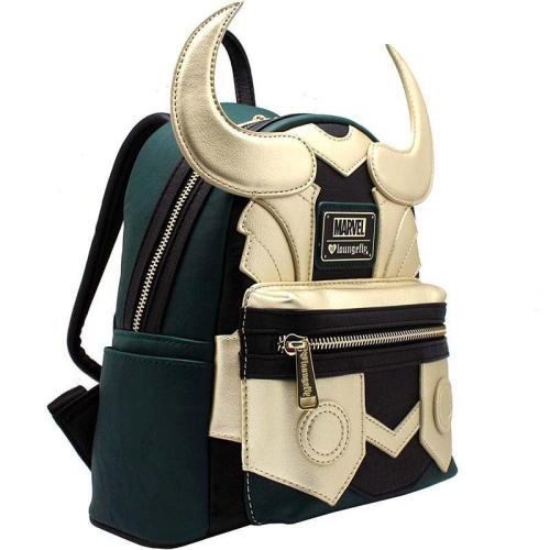 Superhero Loki Season 1 Cosplay Backpack Halloween Bags For Kids Adults