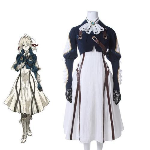 Violet Evergarden Cosplay Costume Anime Cosplay Violet Evergarden Costume For Women Halloween