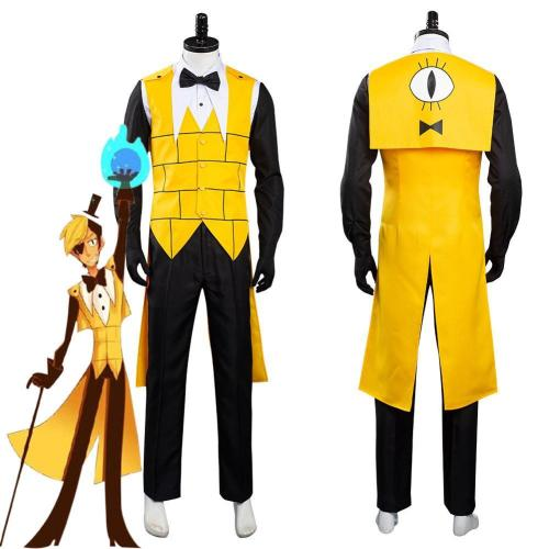 Gravity Falls Bill Cipher Uniform Outfits Halloween Carnival Costume Cosplay Costume