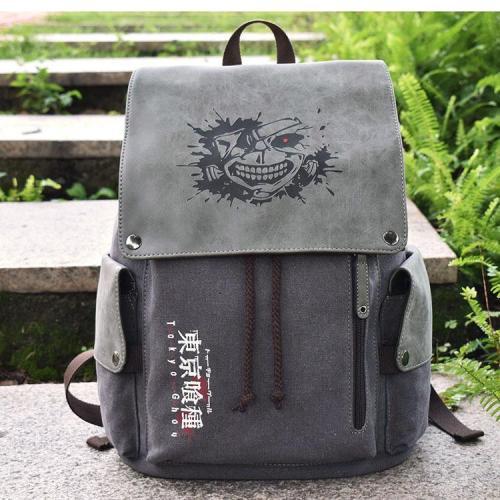 Anime Tokyo Ghoul Cosplay Canvas Backpack Halloween School Bags