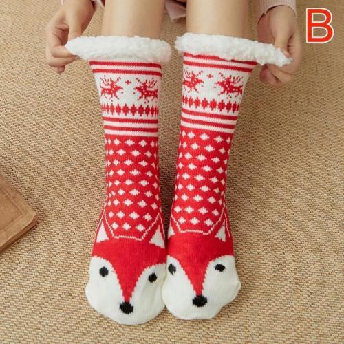 Women Warm Fleece Indoor Socks