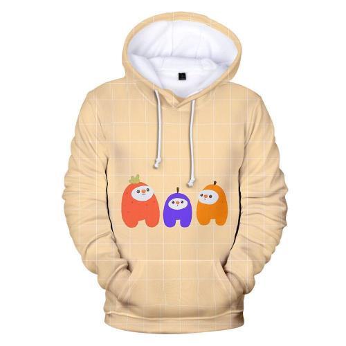 Adult Style-09 Impostor Crewmate Among Us Cartoon Game Unisex 3D Printed Hoodie Pullover Sweatshirt