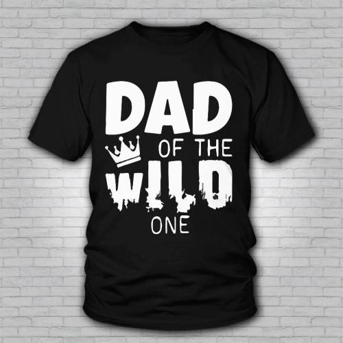 Men'S Breathable Dad Of The Wlld One T-Shirt