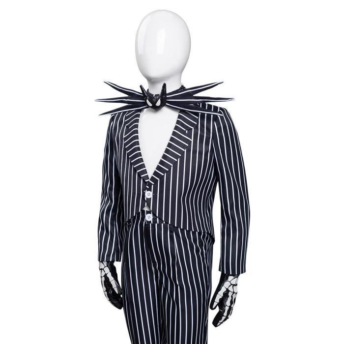The Nightmare Before Christmas Jack Skellington Kids Children Uniform Pants Halloween Carnival Cosplay Costume