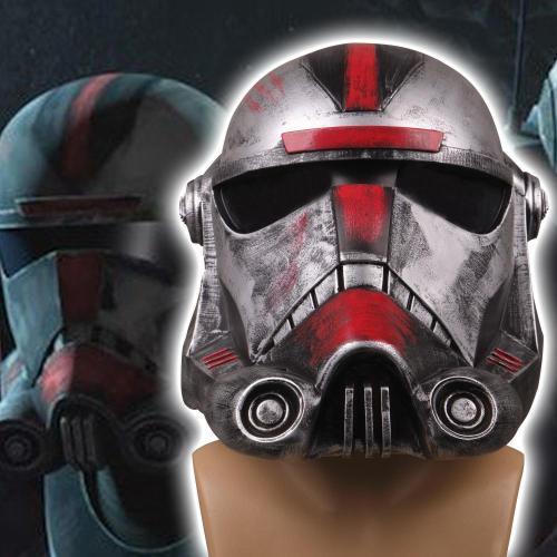 Cosicon Star Wars The Bad Batch Hunter Helmeet Adults Masquerade Helmet Props Pvc