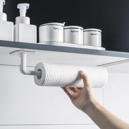 Creative Tissue Paper Hanging Bathroom Toilet Kitchen Stand Towel Holder Storage Shelf (2Pcs)